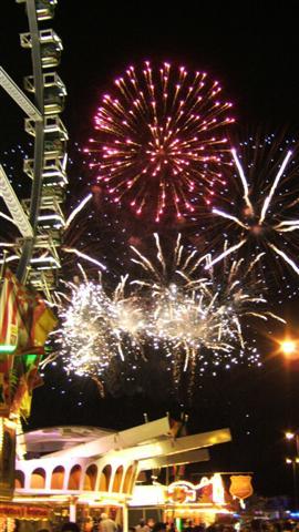 Schützenfest Hannover, Feuerwerk