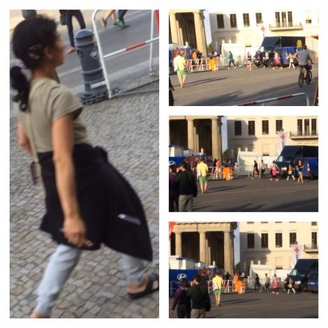 Trickdiebinnen auf der Fußball-WM-Fanmeile Berlin