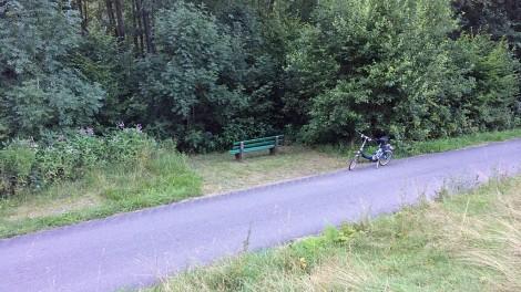 Fahrradweg im Murgtal
