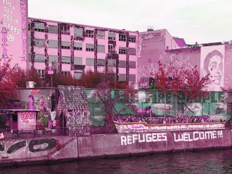 Berlin-Friedrichshain, an der Spree