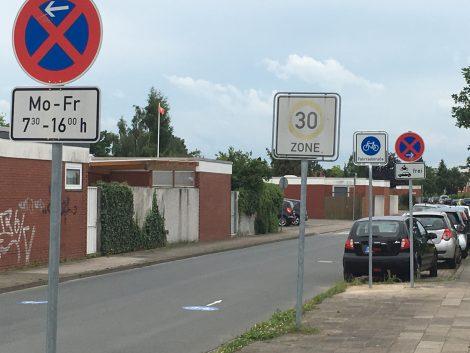 Verkehrtzeichen